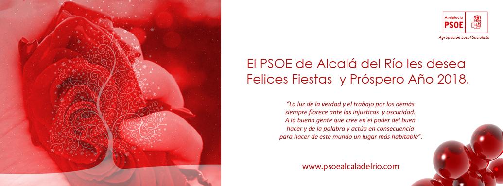 PSOE Felices Fiestas 2017
